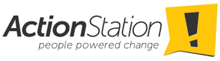 Action Station logo