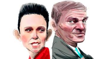 Jacinda and Bill